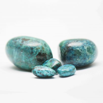chrysocolle-pierre-roulée