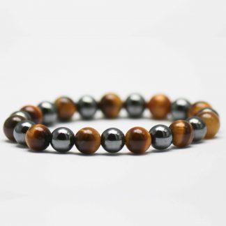 bracelet-hématite-œil-de-tigre