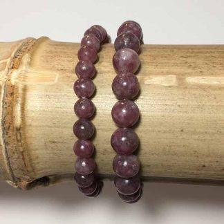 bracelet-lépidolite