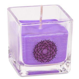 Bougie parfumée cire de colza écolo 7eme chakra