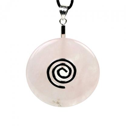 Pendentif-Donut-quartz-rose-sans-cordon-2